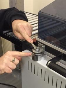 magnet disc adjustment