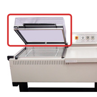 FM75 Chamber Machine Replacement Perspex Hood