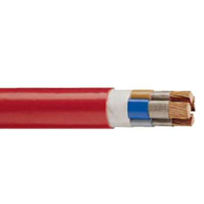 heat resistant cable for shrink wrapping machines and tunnels
