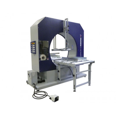 Compact 9 Spiral Wrapping Machine