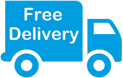Free Delivery Icon - Shrink Wrapping Supplies